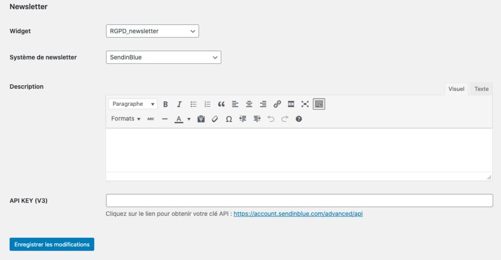 RGPD Newsletter Visions Nouvelles + Axeptio + SendinBlue