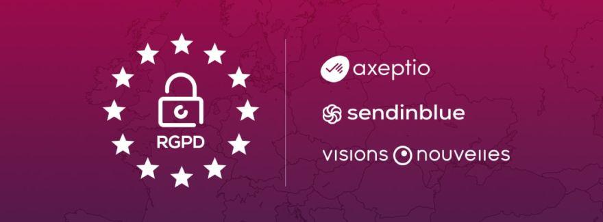 RGPD : Visions Nouvelles lance son extension WordPress open source liées aux solutions Axeptio et SendinBlue